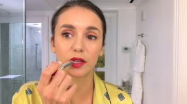 Nina Dobrev Does Her Day-To-Night Beauty Routine