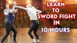 Learning How to Sword Fight in 10 Hours