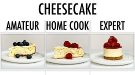 4 Levels of Cheesecake: Amateur to Food Scientist