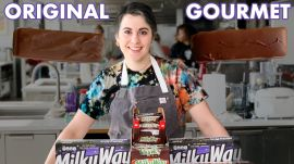 Pastry Chef Attempts to Make Gourmet Milky Way Bars