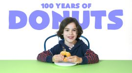 Kids Try 100 Years of Donuts