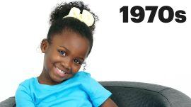100 Years of Girls Hair