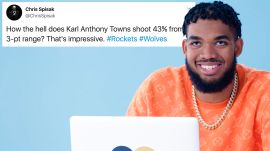 Karl Anthony Towns Goes Undercover on YouTube, Reddit and Twitter