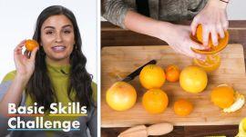50 People Try To Make Orange Juice