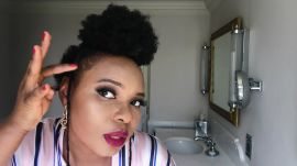 Nigerian Singer Yemi Alade Does Her Performance-Ready Makeup Routine