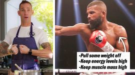 How Boxer Badou Jack's Nutritionists Prep His Meals