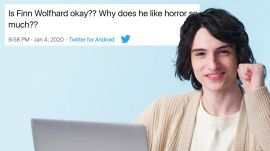 Finn Wolfhard Goes Undercover on Reddit, Twitter and Instagram
