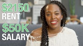 How a Copywriter Making $50K in Philly Spends Her Money