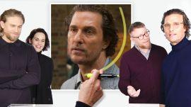 Matthew McConaughey, Guy Ritchie & Cast of 'The Gentlemen' Break Down a Scene