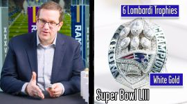 Super Bowl Ring Designer Breaks Down Super Bowl Rings (Patriots, Eagles and more)