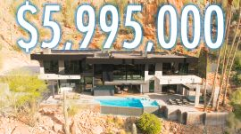 Inside a $6M Desert Mansion With A Mountain In The Backyard