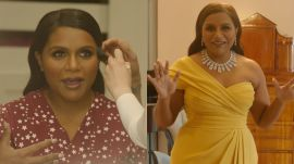 Behind Mindy Kaling's Oscars Look, From Makeup to Last Looks | Camera Ready