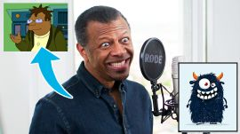 Phil LaMarr (Samurai Jack) Improvises 12 New Cartoon Voices