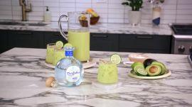 Coconut and Avocado Margarita