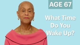 70 Women Ages 5-75: What Time Do You Wake Up In the Morning?