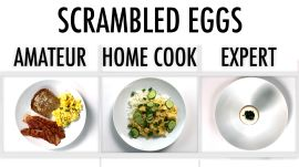 4 Levels of Scrambled Eggs: Amateur to Food Scientist