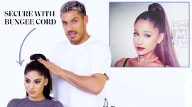 Chris Appleton's Ponytail Masterclass: Ariana Grande, Kim Kardashian, and Jennifer Lopez