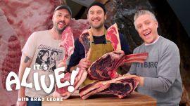 Brad Makes Dry-Aged Steak