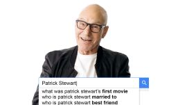 Patrick Stewart Answers the Web's Most Searched Questions