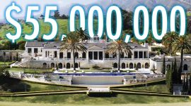 Inside a $55M Mansion With a Helicopter Hangar