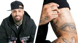 Nicky Jam Breaks Down His Tattoos