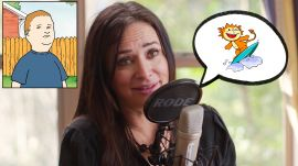 Pamela Adlon (Bobby from 'King of the Hill') Improvises 8 New Cartoon Voices
