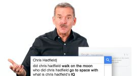 Astronaut Chris Hadfield Answers the Web's Most Searched Questions