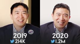 Andrew Yang: Same Interview, One Campaign Apart