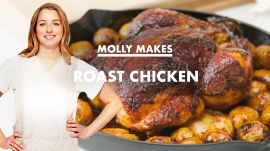 Molly Makes Roast Chicken and Potatoes