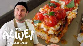 Brad Makes Charred Tomato Toast