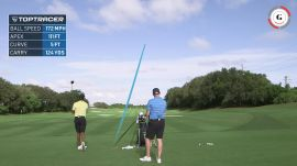 Tiger Woods' Can't-Go-Left Tee Shot