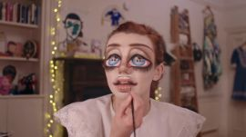 "Watch Sgàire Wood's ""Camp Babydoll"" Extreme Beauty Transformation"