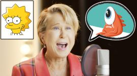 Lisa Simpson (Yeardley Smith) Improvises 8 New Cartoon Voices