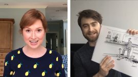 How to Write a New Yorker Cartoon Caption: Ellie Kemper and Daniel Radcliffe Edition