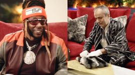 2 Chainz Checks Out a $10K Fur Coat (For Dogs)
