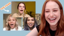 Madelaine Petsch Crashes Her Own Fan Watch Party