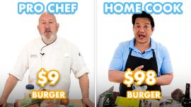 $98 vs $9 Burger: Pro Chef & Home Cook Swap Ingredients