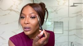 Naomi Campbell's Guide to a Glamorous 10-Minute Beauty Routine