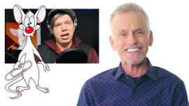 Rob Paulsen (Pinky and the Brain) Reviews Impressions of His Voices