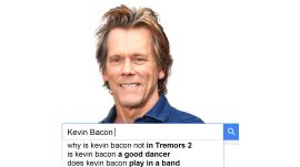 Kevin Bacon Answers the Web's Most Searched Questions