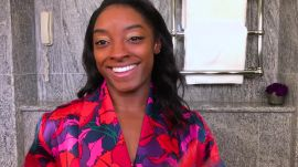 Simone Biles on Her Recovery Tricks, Training Diet, and Olympics-Ready Gold Eye Makeup