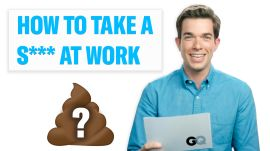 Need to Take a S*** at Work? Comedian John Mulaney Explains How