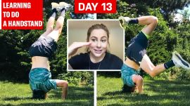 Can an Average Guy Learn How to Do a Handstand in 2 Weeks?