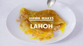 Hawa Makes Lahoh (Somali Pancakes)
