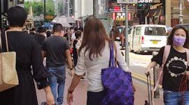 Walking Around In Hong Kong