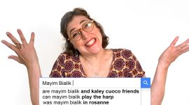 Mayim Bialik Answers the Web's Most Searched Questions