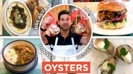 Pro Chef Uses Oysters In Every Meal From Breakfast to Dessert