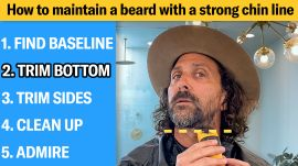 How to Get a Perfect Chin Line For Your Beard (5 Step Tutorial)