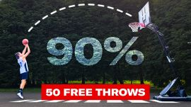 Can an Average Guy Shoot 90% from the Free Throw Line? (Ft. Ray Allen)