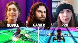 30 People Play Mario Kart 8 From Newbies to Pros
